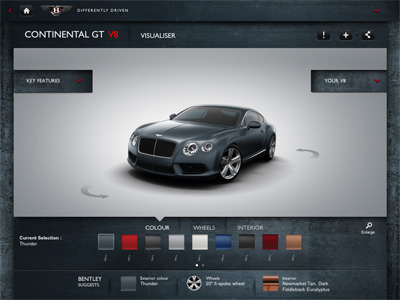 Bentley-app-visual