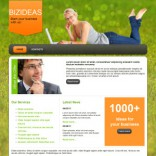 BizIdeas free wordpress theme