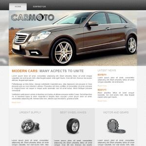 CarMoto free theme