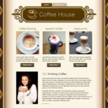 Coffee House free wordpress theme