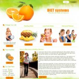 Diet Systems free wordpress theme