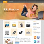 Ella Reviews wordpress theme