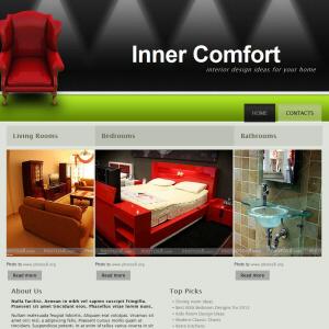Inner Comfort worrpress theme