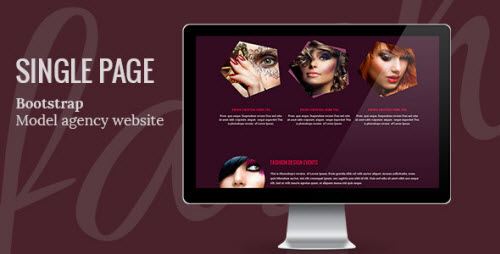 MAgency One Page Templat