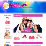 Moon Glam theme wordpress