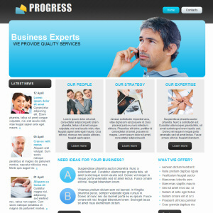 Progress Theme wordpress