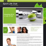 Sport Life Club wordpress theme