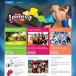Sportiva theme wordpress
