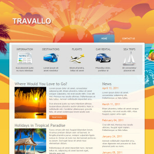 Travallo wordpress