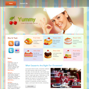 Yummy wordpress