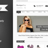 Boutique Shop – Responsive WooCommerce Theme