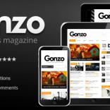 Gonzo – Clean Responsive WP Magazine