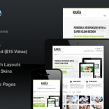 Kakia Multi-Purpose Business Corporate Theme