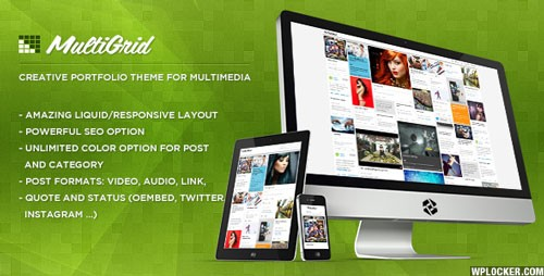 MultiGrid – Creative Portfolio Multimedia Theme
