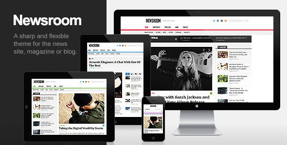 Newsroom – Responsive News & Magazine Theme