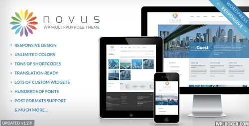 Novus Multipurpose Corporate WordPress Theme