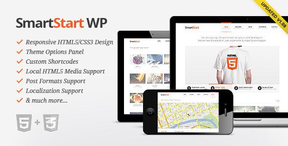 SmartStart WP – Responsive HTML5 Theme